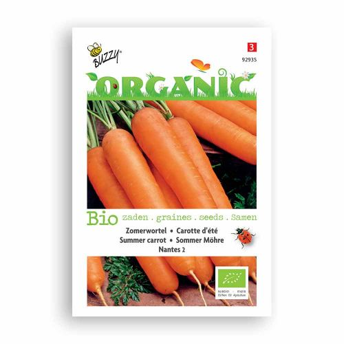 Buzzy® Organic Zomerwort Nantes 2