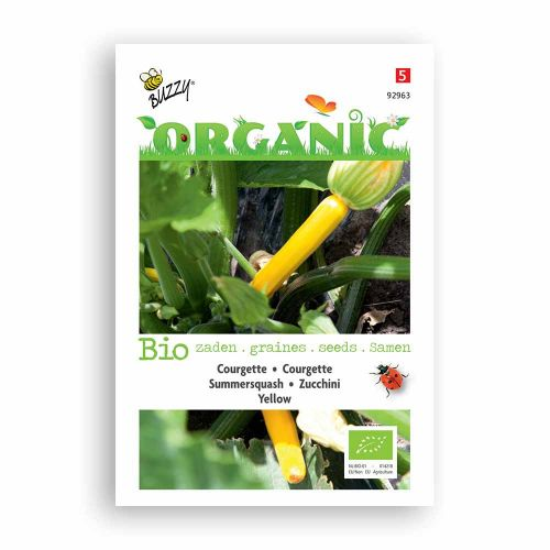 Buzzy® Organic Courgette Yellow