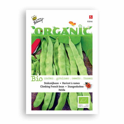 Buzzy® Organic Stoksnijbonen Hel.