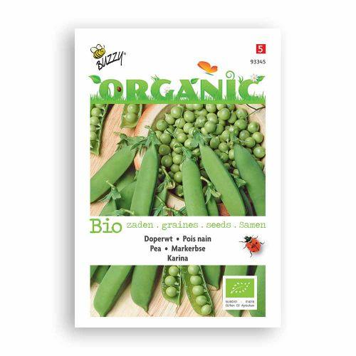 Buzzy® Organic Doperwt Karina