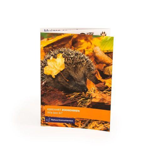 NM kijkkaart zoogdieren