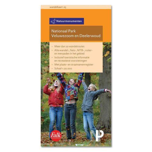 Wandelkaart Nationaal Park Veluwezoom en Deelerwoud