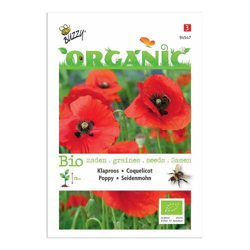 Buzzy® Organic Papaver Klaproos (BIO)