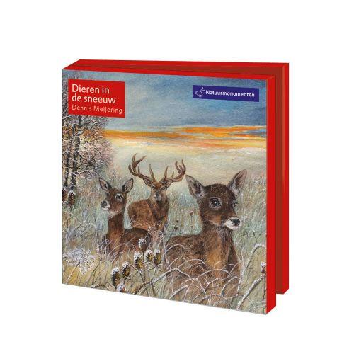Natuurmonumenten Winterkaartenset Dennis Meijering