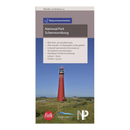 Wandel- en fietskaart Schiermonnikoog