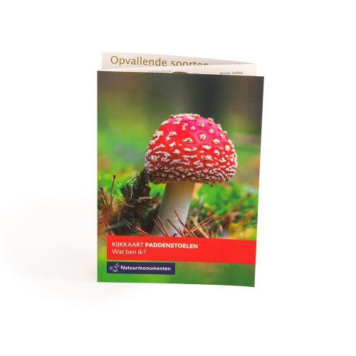 NM Kijkkaart paddenstoelen