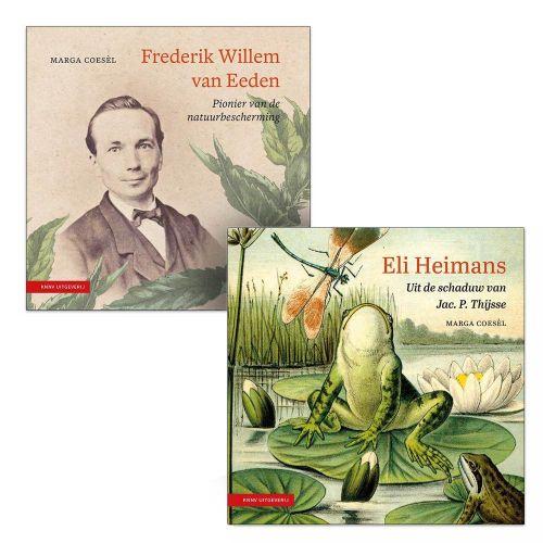 Boekenbundel 'Frederik Willem van Eeden' en 'Eli Heimans'